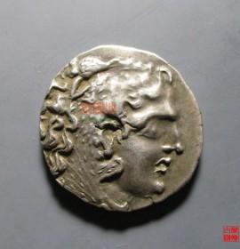 亚历山大四德大银币