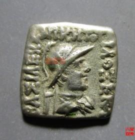巴克特里亚方形银币